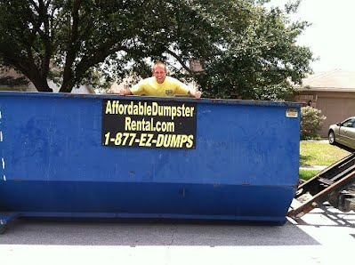rent a dumpster in west palm beach palm county fl