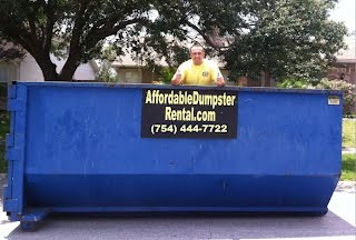 Roll off Dumpsters in Palm Beach County